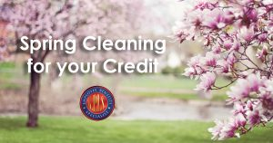 Spring cleaning your credit report
