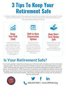 3 Tips to Keep Your Retirement Safe